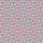 Cirles dans les lignes Motif Vectoriel Sans Couture