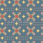 Rêve géométrique ethnique Motif Vectoriel Sans Couture