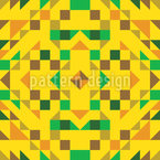Simple African Geometry Seamless Vector Pattern Design
