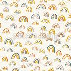 Little Rainbows Seamless Vector Pattern Design