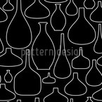 Empty Bottles Repeat Pattern