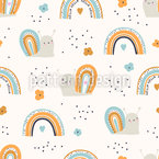 Cute Snails Design Pattern