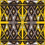 Ethnic Africa Seamless Vector Pattern Design
