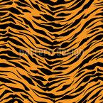 Klassischer Tiger Nahtloses Vektormuster