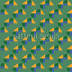 Happy Shapes Seamless Vector Pattern Design