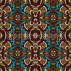 Gipsy Geometry Seamless Vector Pattern Design
