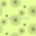 Pinwheel In The Forrest Seamless Vector Pattern Design