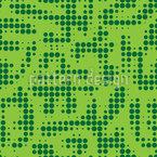 Traços de ponto Design de padrão vetorial sem costura