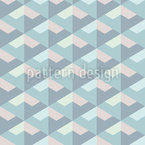 Iridescent Scales Seamless Vector Pattern Design