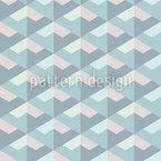 Escalas Iridescentes Design de padrão vetorial sem costura