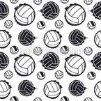 Volleyball Nahtloses Vektormuster
