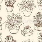 Zimmerpflanzen-Variation Musterdesign