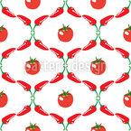 Estética vegetal Design de padrão vetorial sem costura