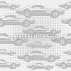 Serpico Cinza Design de padrão vetorial sem costura
