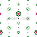 抽象スイカ シームレスなベクトルパターン設計