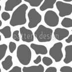 Classic Cow Skin Seamless Vector Pattern Design