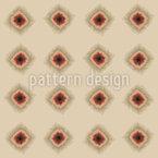 Puntos batik pixelados Estampado Vectorial Sin Costura