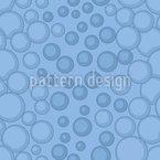 Mistura de bolha Design de padrão vetorial sem costura