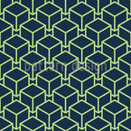 Modern Cube Seamless Vector Pattern Design