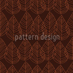 Filious Brown Seamless Vector Pattern