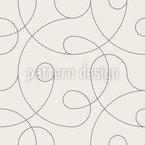 Linhas Modernas Design de padrão vetorial sem costura