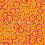 Circle Mix Seamless Vector Pattern Design