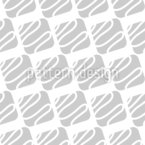 Waved Lines In Squares Seamless Vector Pattern Design
