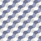 Wavy Geometry Seamless Vector Pattern Design