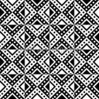 Monochrome Geometry Seamless Vector Pattern Design
