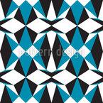 Symmetric Geometry Seamless Vector Pattern Design