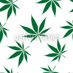 Cannabis Seamless Vector Pattern Design