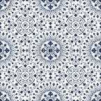 Traditional Mandala Seamless Vector Pattern Design