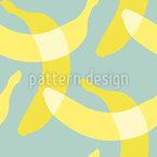 バナナ・イン・ザ・スカイ シームレスなベクトルパターン設計