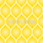 Zitronen Komposition Nahtloses Vektormuster
