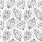 Diamond Composition Seamless Vector Pattern Design