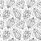 Composizione Diamante disegni vettoriali senza cuciture