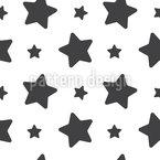 Estrellas clásicas Estampado Vectorial Sin Costura