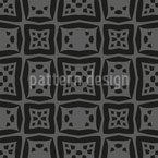 Retângulos Inchados Design de padrão vetorial sem costura