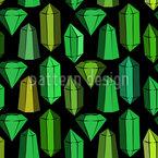 Esmeraldas Estampado Vectorial Sin Costura
