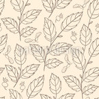 Dance Of Autumn Leaves Seamless Vector Pattern Design