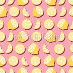 Reunião Lemon Design de padrão vetorial sem costura