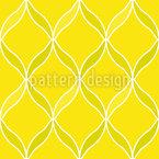 Zitronen-Gitter Nahtloses Vektormuster