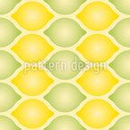 Geometria Citrino Design de padrão vetorial sem costura