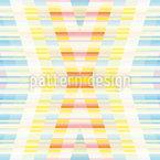 Pastel Crossings Seamless Vector Pattern Design