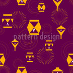 The Original Diwali Seamless Vector Pattern Design