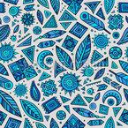 Splendeur aztèque Motif Vectoriel Sans Couture