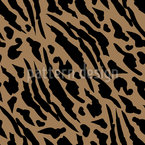 Panther Spots Seamless Vector Pattern Design