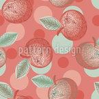 装飾アップル シームレスなベクトルパターン設計