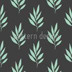Stilisiertes Blatt Musterdesign