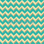 3D Zigzag Seamless Vector Pattern Design